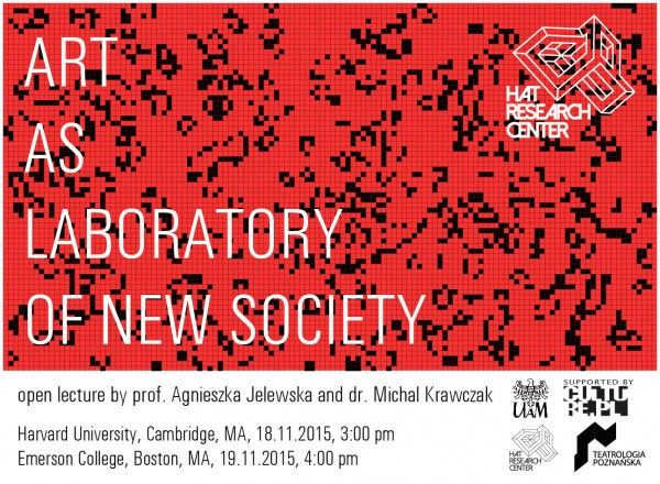art as laboratory lecture