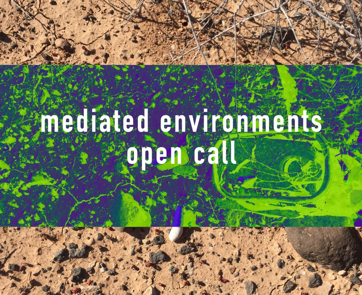 MEDIATED ENVIRONMENTS: open call